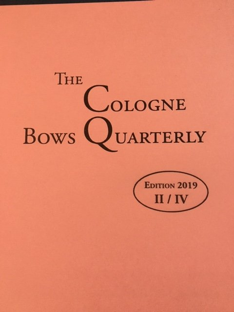 Darling: The Cologne Bows Quarterly Edition II 2019, soft